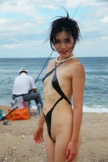 色気のある女の子が全裸ボディペイントしてる画像がアツい![35枚] | おっぱい画像とエロメガネ | エロ画像,ボディペイント,露出プレイ,アートヌード