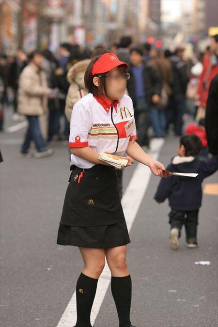 可愛い女の子がマクドナルドコスでHな感じになってる画像下さい[39枚] | ギャルル | エロ画像,コスプレ,マクドナルド