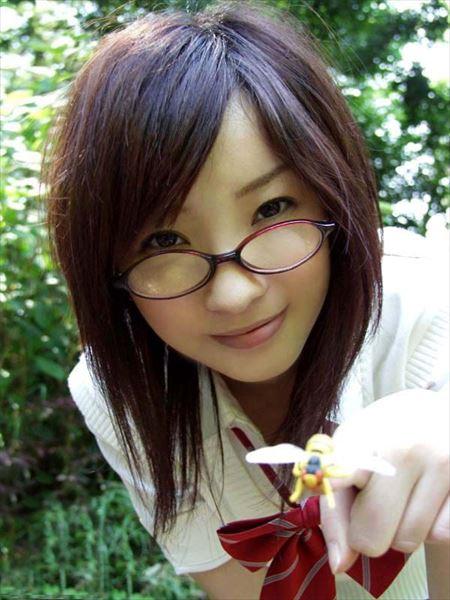 メガネかけた子がオトナの悪戯してくれる画像がマジエロ過ぎ[43枚] | エロコスプレ画像堂 | エロ画像,メガネっ子,メガネ
