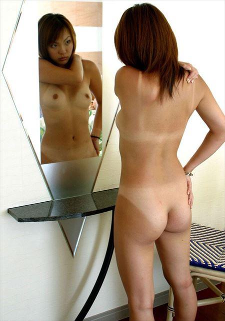 日焼けの後がある女の子が誘惑してくる画像でシコろうか[37枚] | ギャルル | エロ画像,日焼け,水着