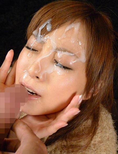 エッチ好きそうなお姉さんが顔射されてる画像がセクシー過ぎて抜ける[33枚] | エロコスプレ画像堂 | エロ画像,顔射,射精,ぶっかけ