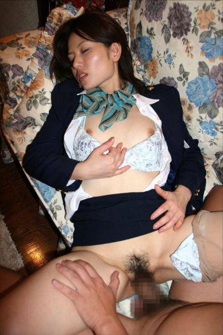 スチュワーデスお姉さんが着衣でエッチな事してくれる画像で今からオナニーしてくる[15枚] | ギャルル | エロ画像,着衣SEX,着エロ,CA,コスプレ