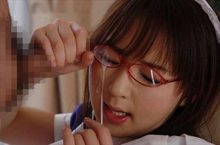 ガード固そうなメガネが似合う女の子が生ハメ&顔射されてる画像で今からオナニーしてくる[26枚] | エロコスプレ画像堂 | エロ画像,見た目とのギャップ,メガネっ子,メガネ,顔射,射精,ぶっかけ