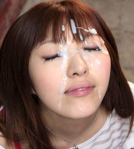 女が顔射されて喜んでる画像の破壊力高すぎwwww[7枚] | おっぱい画像とエロメガネ | エロ画像,顔射,射精,ぶっかけ